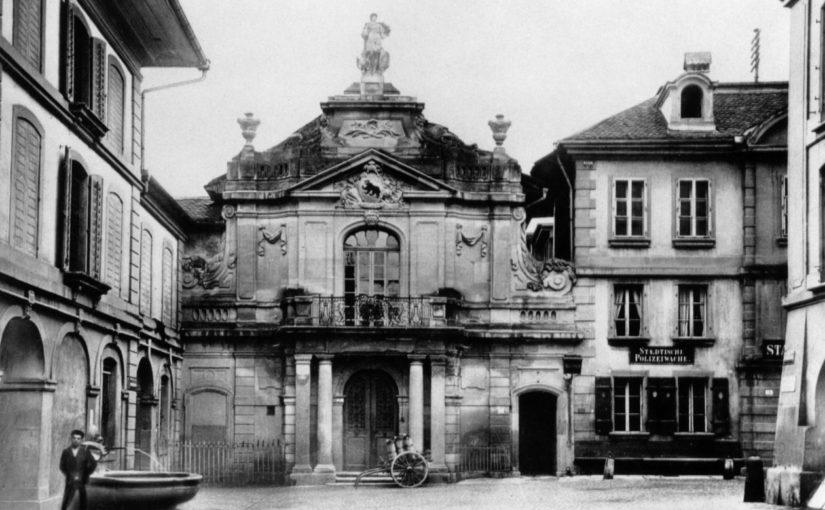Das vergessene Leben des Albert Müller, erster Konservator für Entomologie am Naturhistorischen Museum Bern