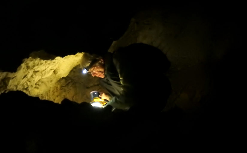 EVB-Höhlenexkursion in die Grottes aux Fées in Vallorbe